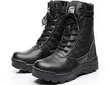 Чёрные тактические ботинки Берцы Swat classic 9.0, фото 3