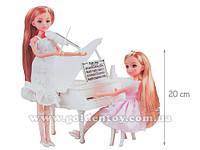 Кукла Leila с заводным роялем