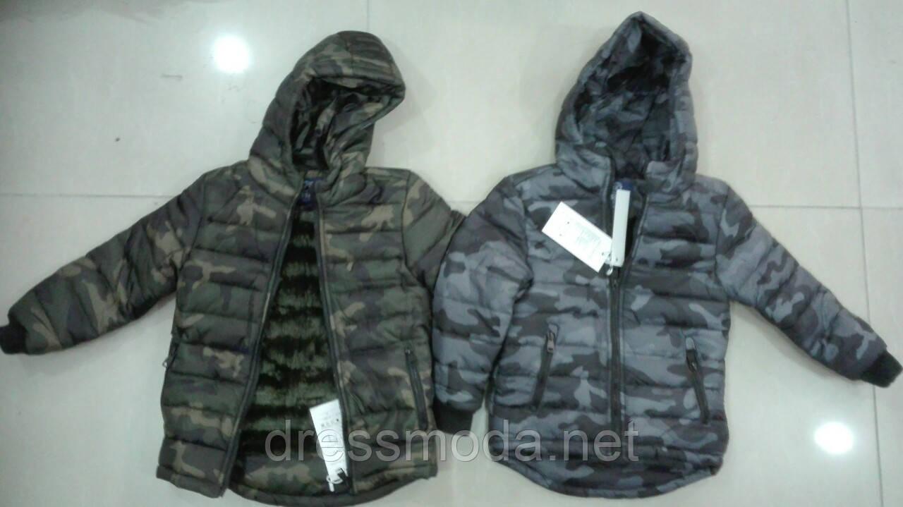 Куртки на меху для мальчиков Crossfire 1-5 лет