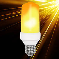 Светодиодная лампа Horoz пламя SMD LED FIREFLUX 5W 1500К E27