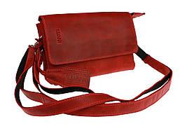 Сумка женская маленькая барсетка клатч SULLIVAN sg10(32) красная