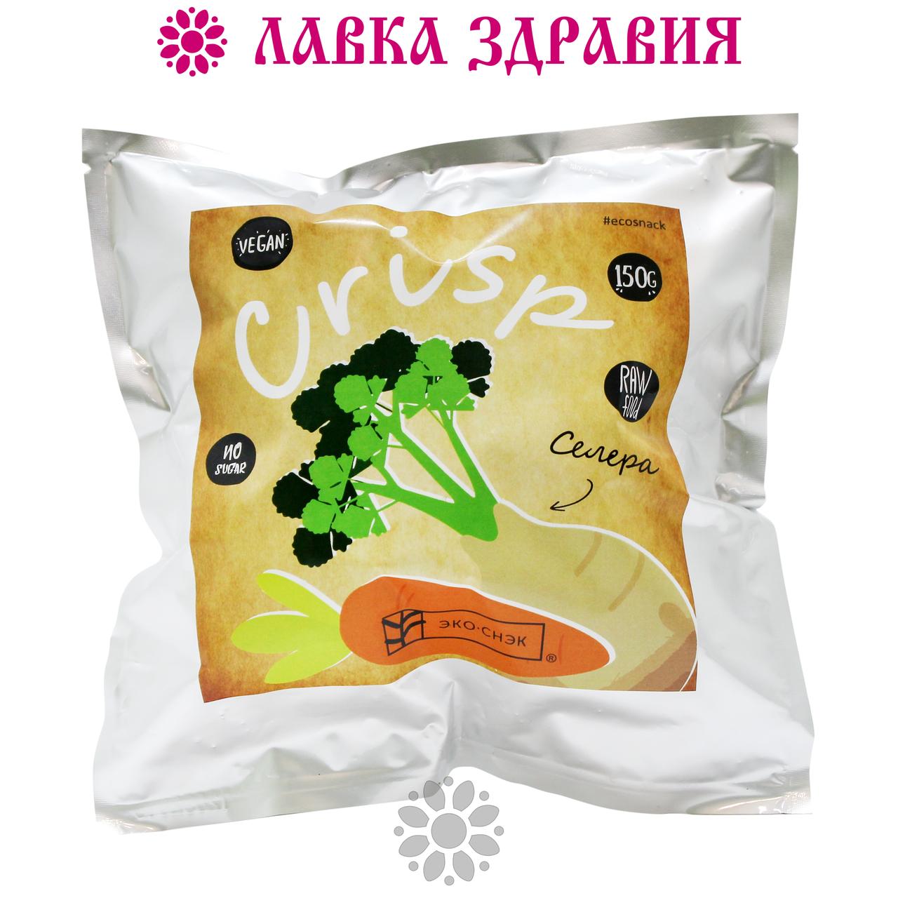 Крисп Морковь-Сельдерей,150 г, Эко-Снэк