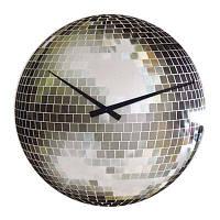 """Годинники настінні """"Disco"""", маленькі Ø20 см"""
