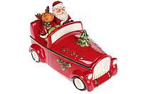 Банка для сладостей Санта в машине, 1.5л, фото 1