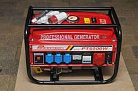 Генератор бензиновый 3-х фазныйPowertech PT6500W 4.8кв