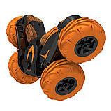 Автомобиль трансформер, трюковой на радиоуправлении  JJRC SY005 Stunt Car оранжевый (JJRC-SY005O), фото 7