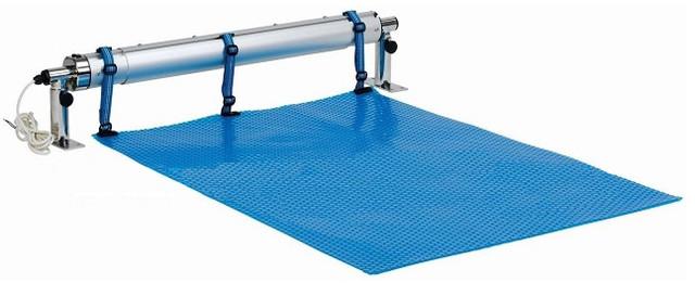 Ролета Vagner Pool (6019371) з електроприводом для солярної плівки
