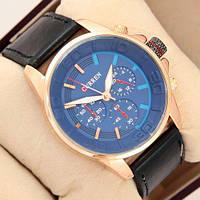 Наручные часы Curren Style 8187 Gold\Blue