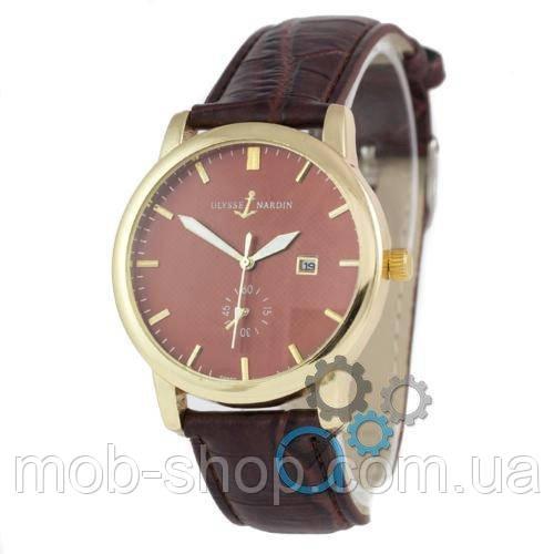 Наручные часы Ulysse Nardin Lelocle Suisse 7141 Brown-Gold