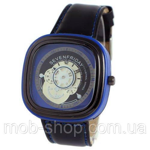Наручные часы Sevenfriday Leather Blue-Black