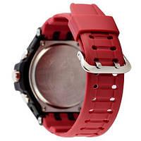 Наручные часы Casio G-Shock GA-1100 Black-Red Wristband, фото 2