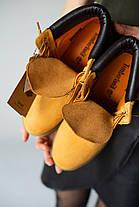 Женские демисезонные ботинки в стиле Timberland X OFF WHITE, фото 3