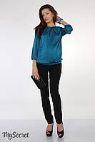 """Узкие брюки для беременных """"Lavera"""", черные, фото 1"""