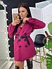 """Женский пиджак """" ZARA NE"""" , костюмная подкладка :нейлон. Размер: С(42-44)М(44-46). Разные цвета. (326), фото 4"""