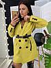 """Женский пиджак """" ZARA NE"""" , костюмная подкладка :нейлон. Размер: С(42-44)М(44-46). Разные цвета. (326), фото 6"""