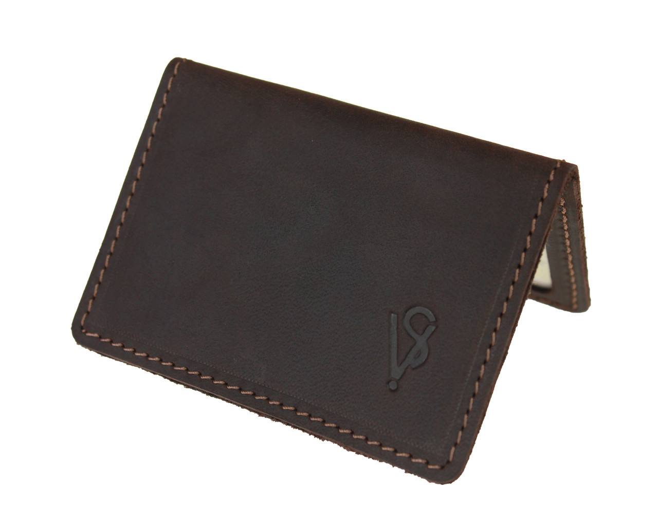 Обложка для водительских документов прав удостоверений ID паспорта SULLIVAN odd8(4) коричневая