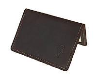 Обложка для водительских документов прав удостоверений ID паспорта SULLIVAN odd8(4) коричневая, фото 1