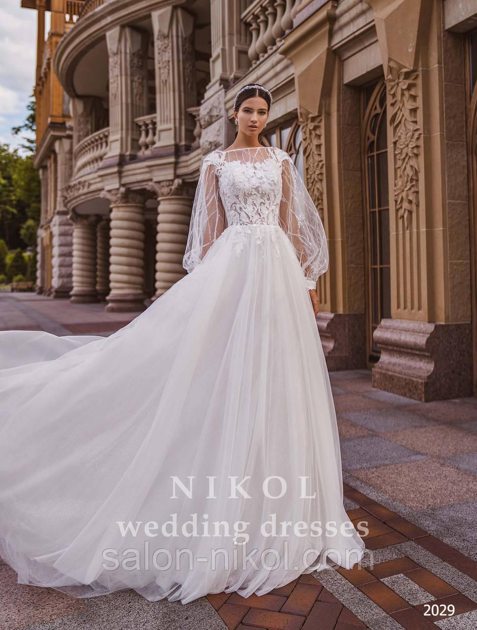 Свадебное платье № 2029