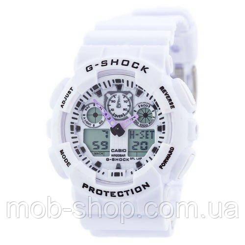 Наручные часы Casio G-Shock GA-100 White