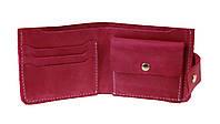 Кошелек женский кожаный маленький SULLIVAN kgm10(8) фуксия