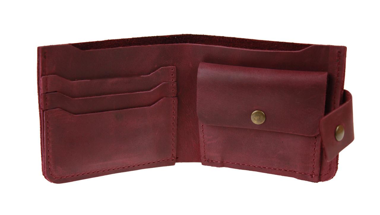 Кошелек женский кожаный маленький SULLIVAN kgm13(8) марсала
