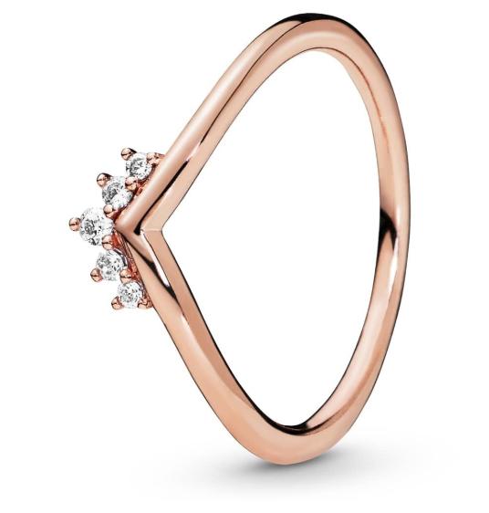 Серебряное кольцо «Тиара мечты»