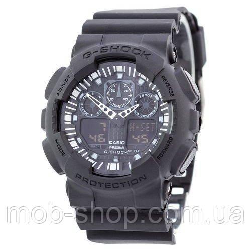 Casio G-Shock GA-100 All Black 0970816242