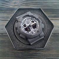 Casio G-Shock GA-100 All Black 0970816242, фото 3