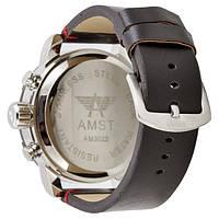 Наручные часы AMST 3022 Black-Red Smooth Wristband, фото 2