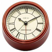 """Часы настольные """"Small Amsterdam Red"""" ø11 см, фото 1"""