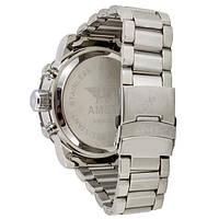 Наручные часы AMST 3022 Metall Silver-Black-Silver, фото 2