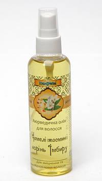 Серия Триюга Хербал (Triuga Herbal) Аюрведическое масло для волос Триюга Чамели (жасмин) и Имбирь