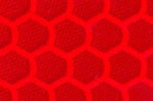 Призматична відображає червона плівка (соти) - ORALITE 5900 High Intensity Prismatiс Grade Red 1.235 м