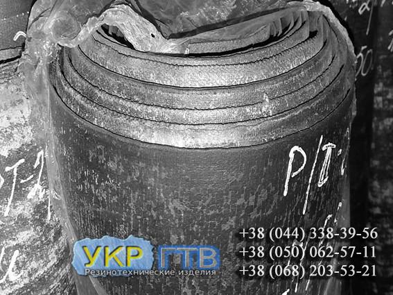 Резинотканевая Резина ТМКЩ 8мм ширина 1,3м