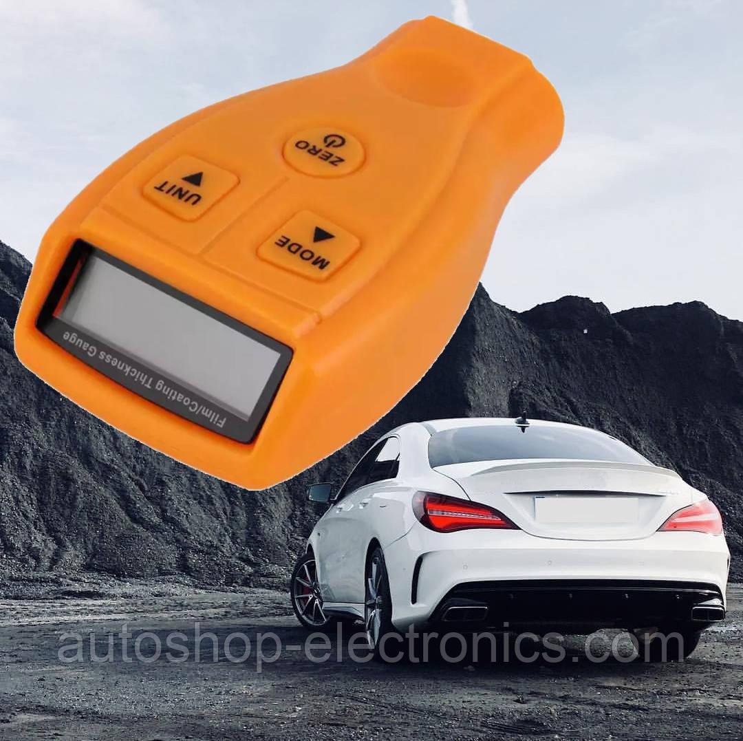 Автомобильный ТОЛЩИНОМЕР / Высокоточный измеритель лакокрасочного покрытия автомобиля (инструкция на русском)