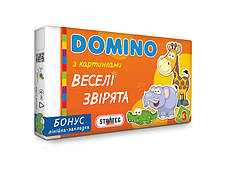 Игра Домино для детей  (развивающая) Strateg 30665 677 30668 30669 679, фото 3