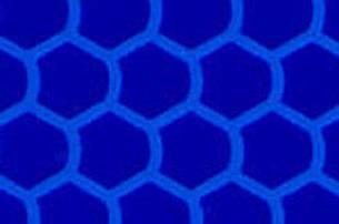 Призматична відображає синя плівка (соти) - ORALITE 5900 High Intensity Prismatiс Grade Blue 1.235 м