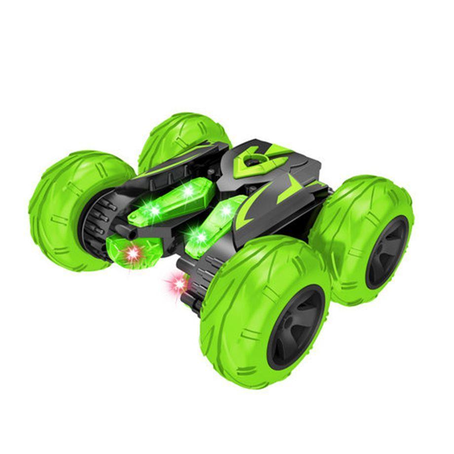 Автомобиль трансформер, трюковой на радиоуправлении  JJRC SY005 Stunt Car оранжевый (JJRC-SY005O) Зеленый