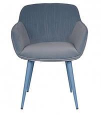 Кресло CARINTHIA текстиль голубой, фото 2
