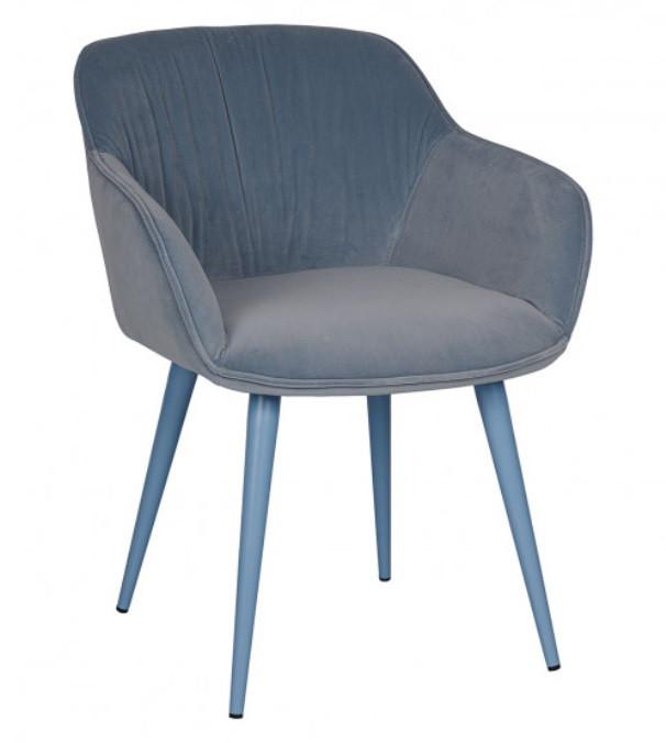 Кресло CARINTHIA текстиль голубой