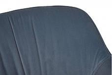 Крісло CARINTHIA текстиль блакитний, фото 3