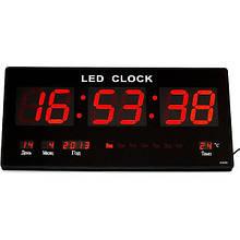 Электронные часы (подсветка: красная)