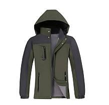 Демисезонная  влагозащитная мужская куртка, фото 2