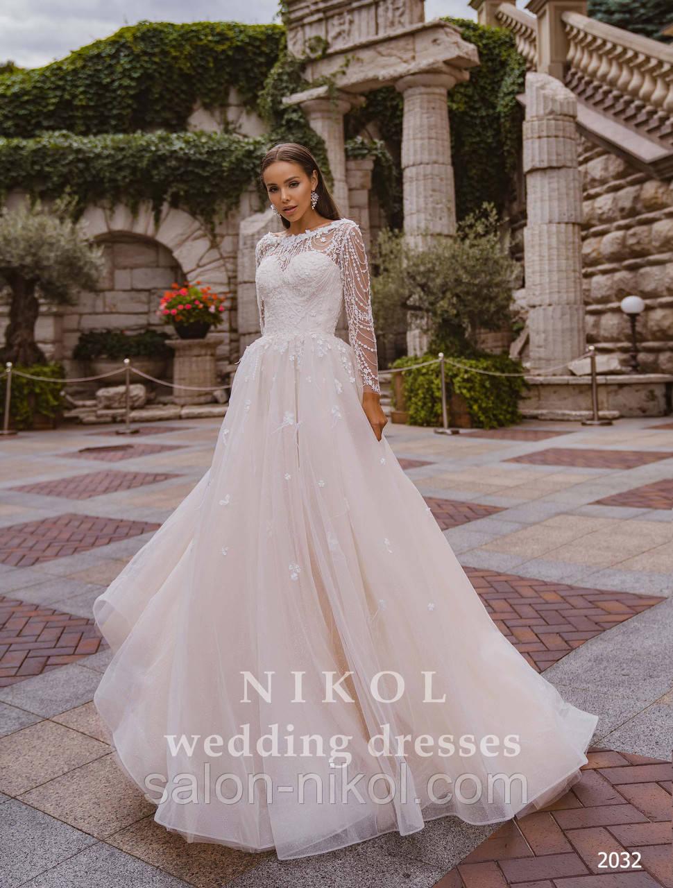 Свадебное платье № 2032