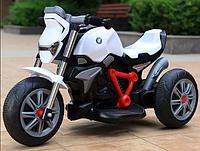 Детский мотоцикл M 3639 - 1, белый
