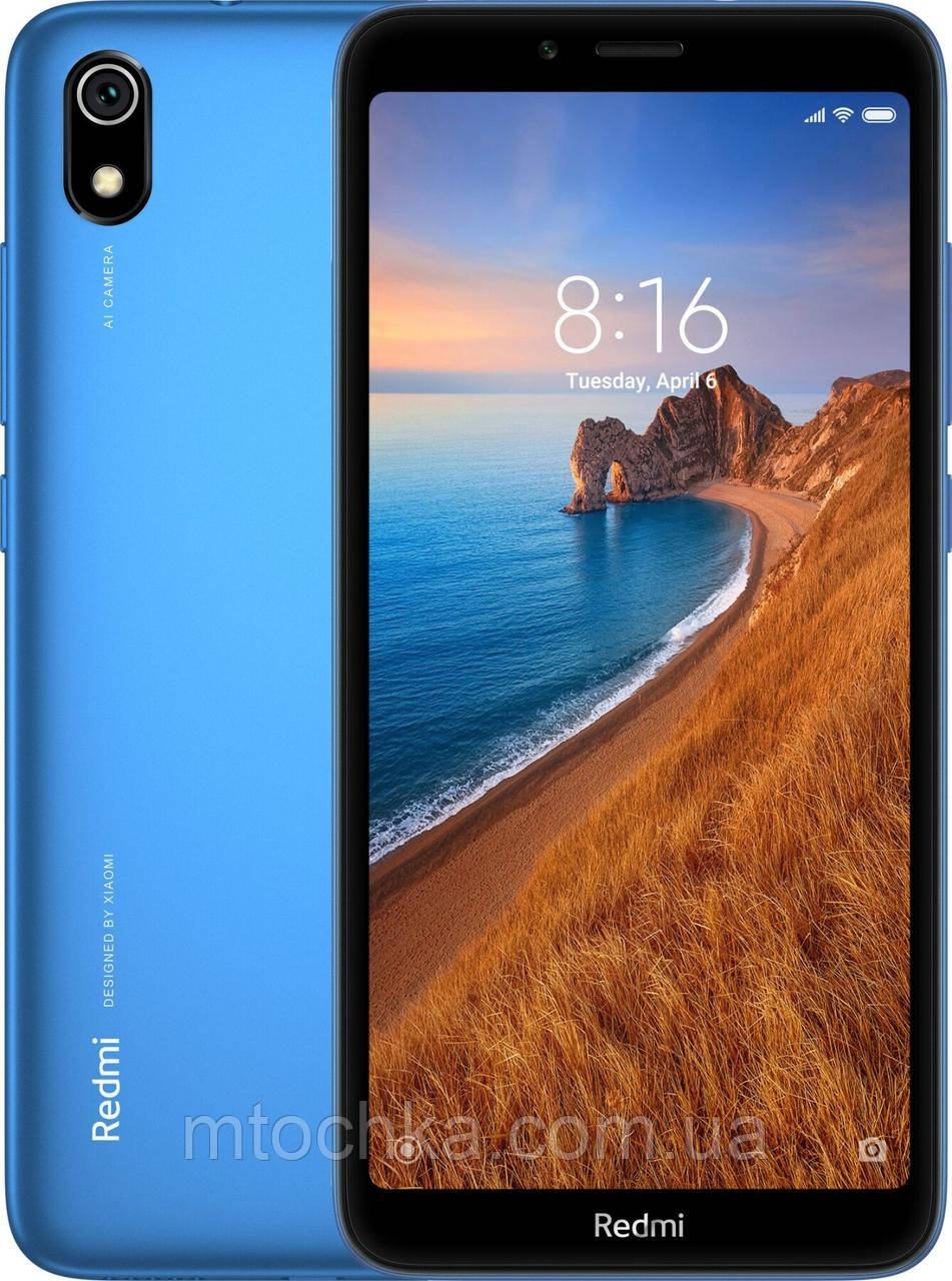 Телефон Xiaomi Redmi 7A 2/32 GB Gem Blue глобал версия (гарантия 13 мес)
