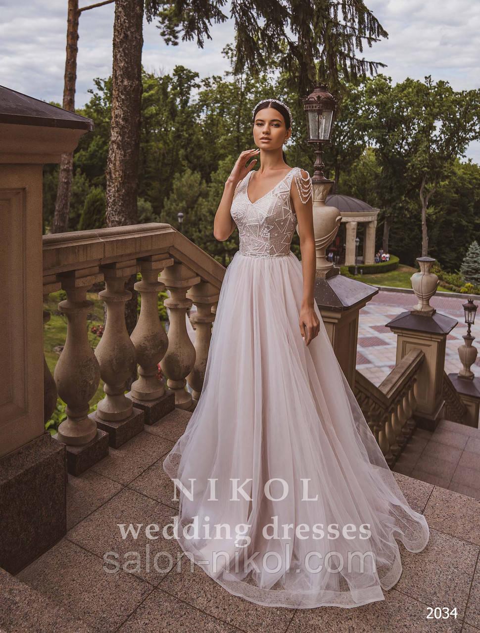 Свадебное платье № 2034