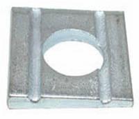 Шайба DIN 434 клиновая для швеллеров, ГОСТ 10906-78, косая