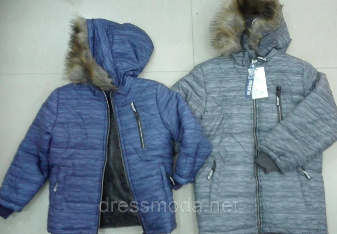 Куртки на меху для мальчиков Crossfire 8-16 лет