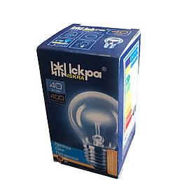 Лампа накаливания шарик, 40 Ватт, Е27